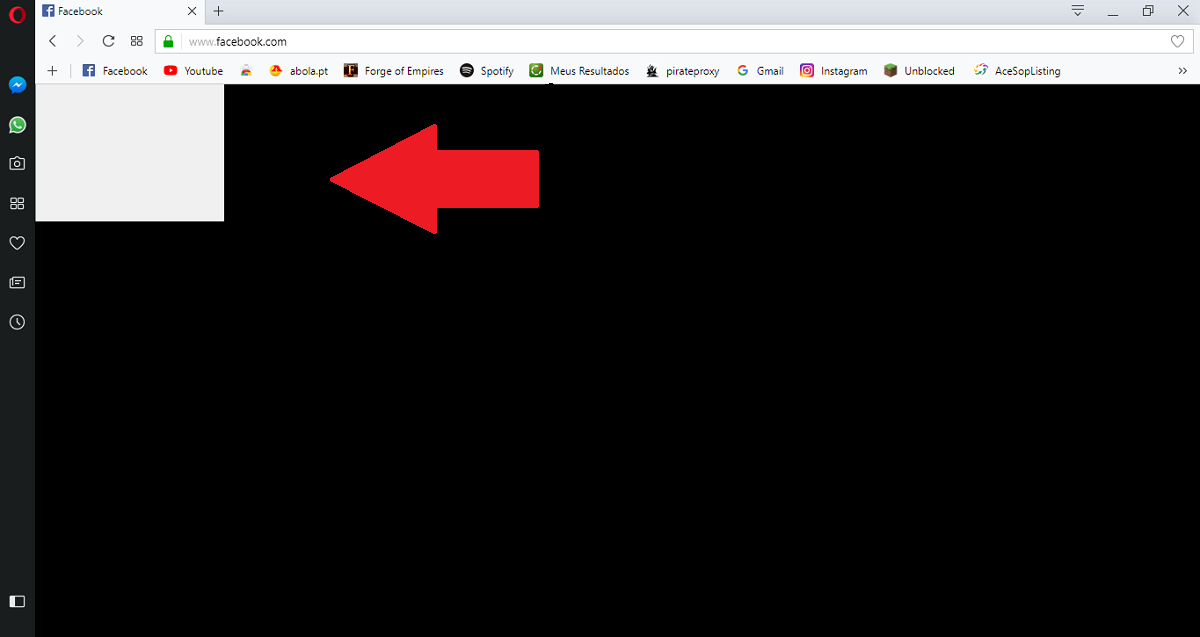 How to fix Opera black screen