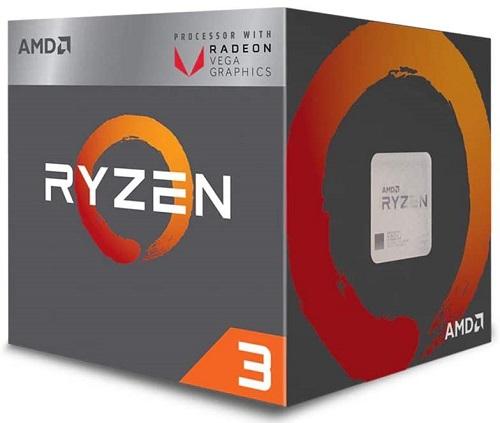 Processor with Radeon Vega 8 Graphics