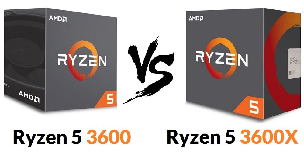 AMD Ryzen 5 3600 VS Ryzen 5 3600x Review