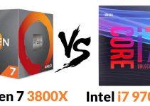 Ryzen 7 3800x vs Intel i7 9700k – Which one you Should Go For