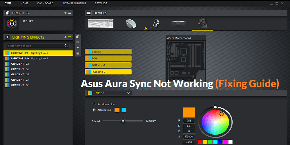 Aura Sync Complete Guide