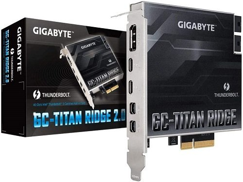 Titan Ridge Thunderbolt 3 PCIe Card