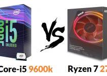 Intel Core-i5 9600k vs Ryzen 7 2700x – Which one i go for