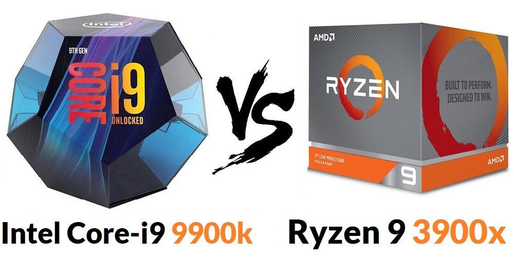 Intel Core-i9 9900k Vs Ryzen 9 3900x Comparison