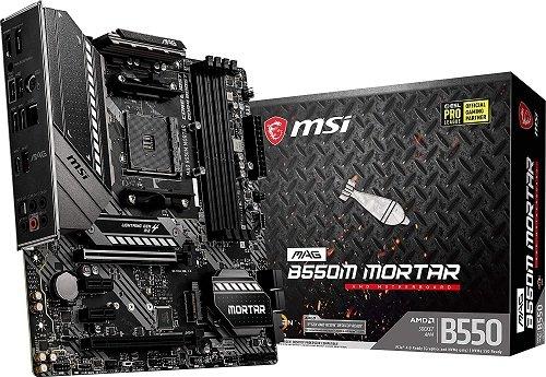 B550M Mortar Gaming Motherboard
