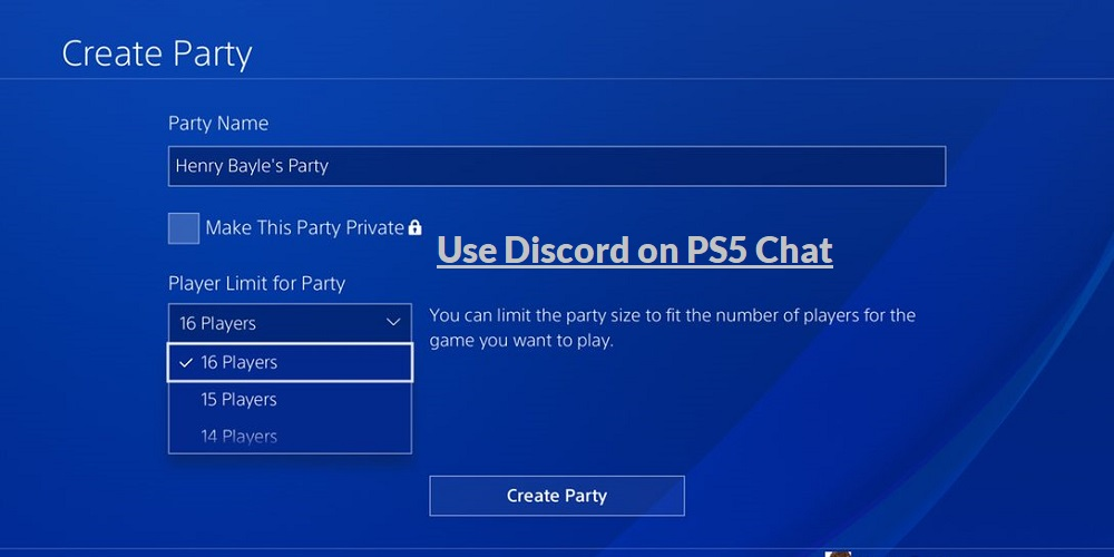 can you install discord on ps5