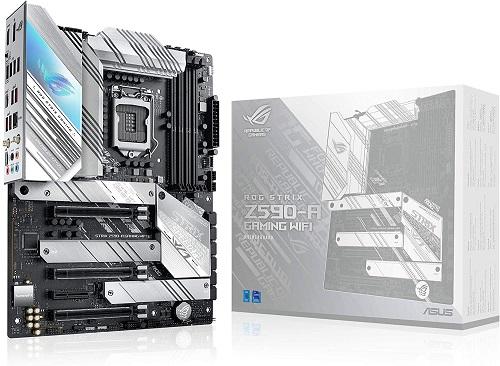 ATX White Scheme Gaming Motherboard