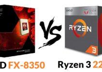 Ryzen 3 2200G vs AMD FX-8350 – Which CPU is Better?