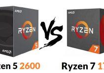 Ryzen 5 2600 vs Ryzen 7 1700 – Which one you should Buy