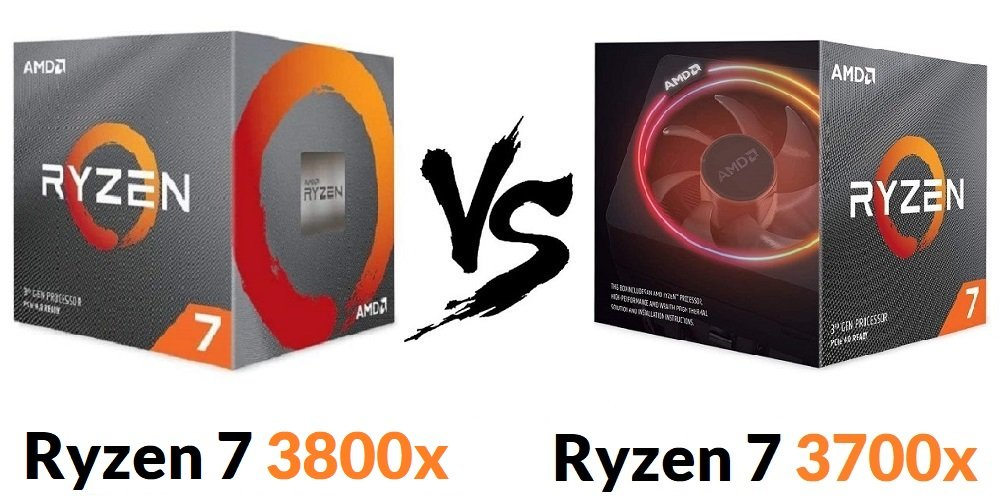 Ryzen 7 3800x vs Ryzen 7 3700x Reviews