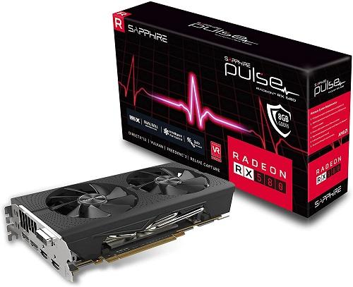 RX 580 8GB GDDR5 GPU