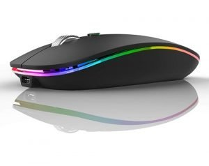 Rechargeable Wireless Silent Mouse