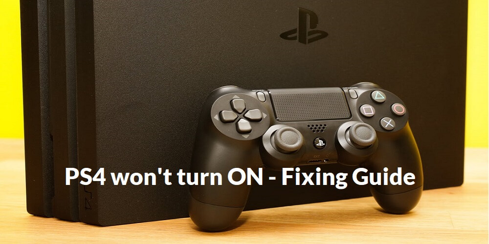 ps4 fixing guide