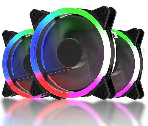 120mm LED Silent Fan for Computer Cases